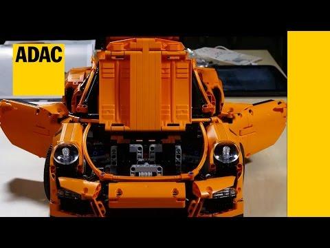 228mph porsche 911 gt3 crash the lego car blog. Black Bedroom Furniture Sets. Home Design Ideas