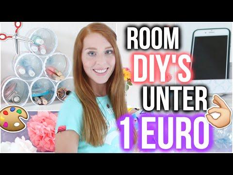 COOLE ROOM DIY'S FÜR UNTER 1 EURO die du ausprobieren MUSST!  | LaurenCocoXO