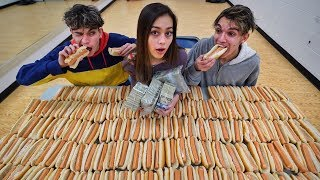 First To Finish Hot Dogs Wins $5000!