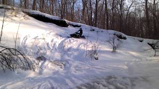 10. Me takin on a hill with my Polaris with 1.5 Ripsaw