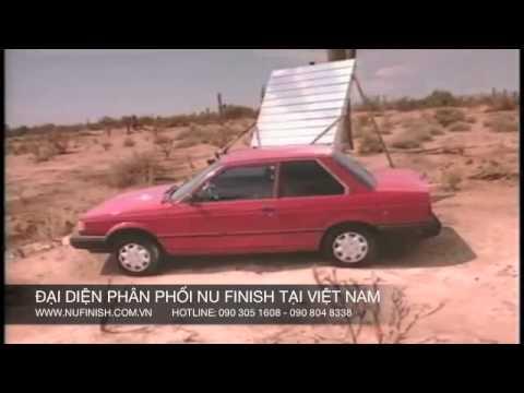 Thử nghiệm dung dịch làm bóng xe hơi với Nu Finish Car Polish