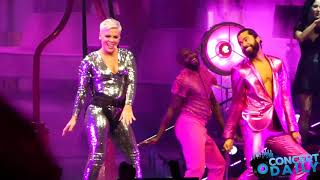 """Pink performs """"Get The Party Started"""" live in Washington, DC"""