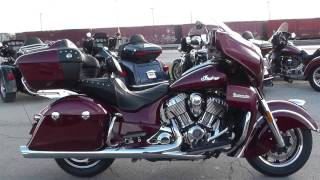 4. 343713 - 2017 Indian Cheif Roadmaster - Used motorcycle for sale