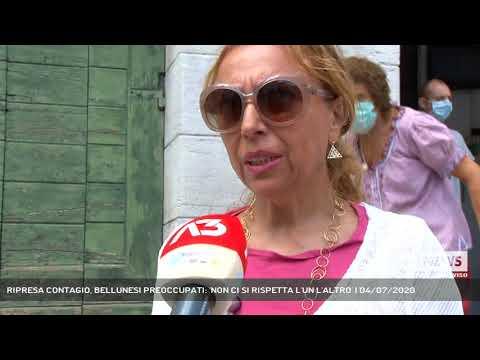RIPRESA CONTAGIO, BELLUNESI PREOCCUPATI: 'NON CI SI RISPETTA L'UN L'ALTRO' | 04/07/2020