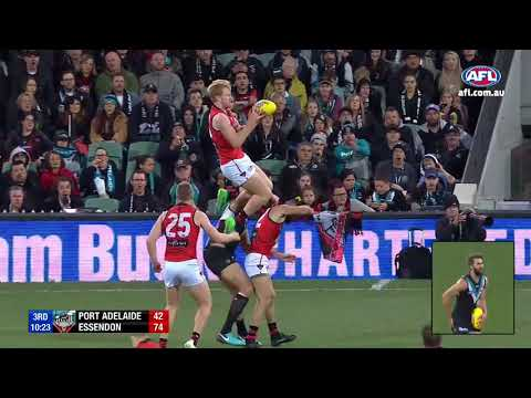Best Marks Of The 2018 Afl Season