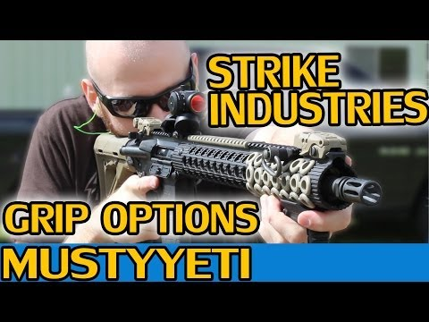 mustyyeti - Today I'm discussing my thoughts on Strike Industries Cobra Tactical Fore Grip and the Patriot Tactical Grip, Enhanced PRO Model. I covered everything in the...