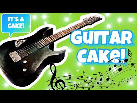 Electric Guitar – Cake Tutorial