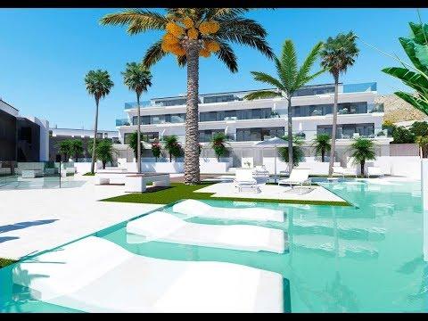 Propiedades sobre plano: apartamentos de lujo en Sierra Cortina Club Residencial (Benidorm, España)
