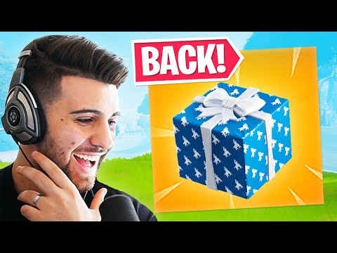 PRESENTS Are BACK in Fortnite!