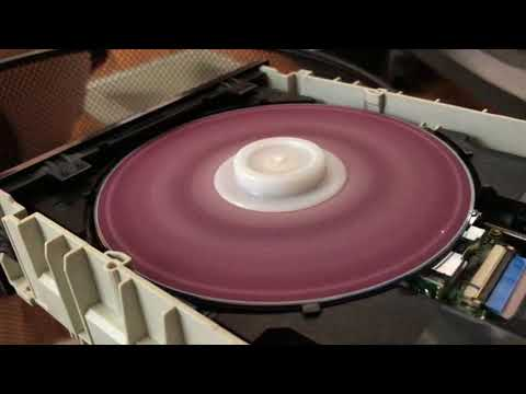 Optical drive at work without cover