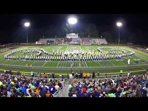 Jackson HS Marching Band 9/16/2017