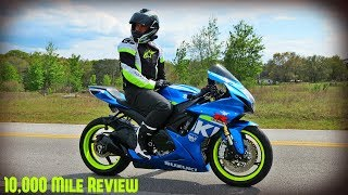 9. GSXR750 10,000 Mile Review (16,000 km)