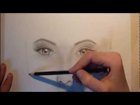 Angelina Jolie : Portrait zeichnen