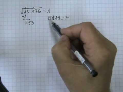 Vídeos Educativos.,Vídeos:Raíz cuadrada 3
