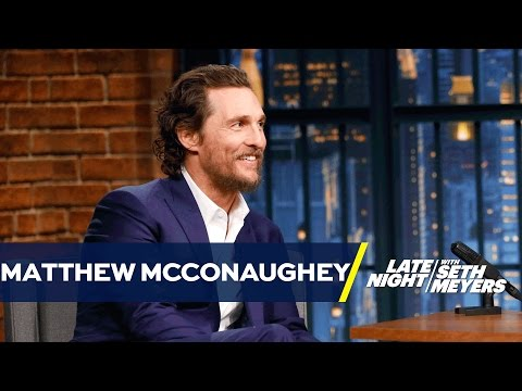 Matthew McConaughey Faked an Australian Accent for a Year