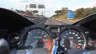 3. Suzuki GSX 1300R Hayabusa test di accelerazione (acceleration test)