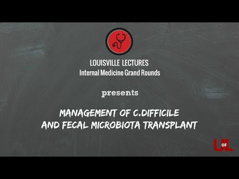 Management of C.difficile and Fecal Microbial Transplant With Dr. Krueger