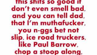 Wasted Lil Wayne with lyrics