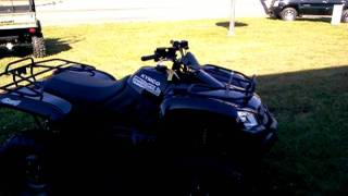 8. Demo ride on the new 2012 Kymco MXU 450i 4x4
