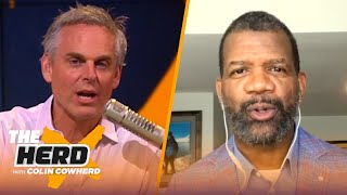 Mahomes missed mark to enact fully guaranteed NFL contracts, talks LeBron — Rob Parker | THE HERD by Colin Cowherd