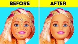 Video 30 AWESOME HACKS FOR YOUR BARBIE DOLLS MP3, 3GP, MP4, WEBM, AVI, FLV Juli 2018
