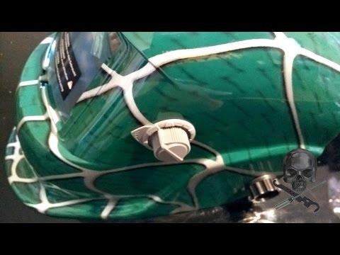 unboxing maschera saldatura a schermo automatico - parkside