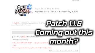 Super Smash Bros 4 Patch 1.1.6 Info