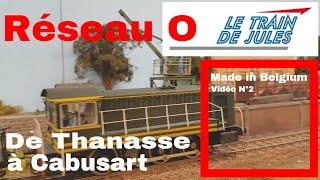 letraindejules.fr - Vidéo N°37 - Réseau O de Thanasse à Cabusart.