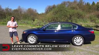 2014 Honda Accord Sedan DETAILED Review On Everyman Driver