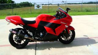 3. 1400 SuperSport 2006 Kawasaki ZX14 in Passion Red