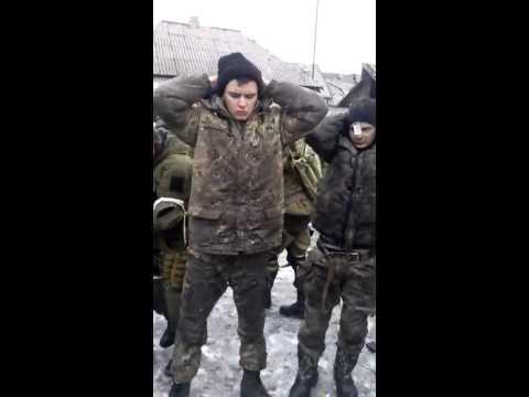 Ополченцы наловили укров под Дебальцево - DomaVideo.Ru