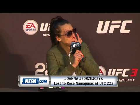 Joanna Jedrzejczyk Full UFC 223 Press Conference