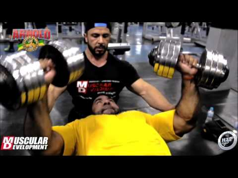 Training in Brazil for the 2016 Arnold Classic Brazil