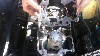5. snowmobile base gasket replacement