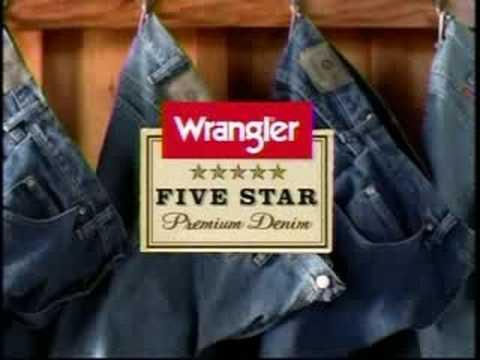 Brett Favre Wrangler's Commercial