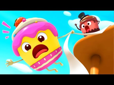 Strawberry Cupcake and Friends | Learn Fruits, Color Song | Nursery Rhymes | Kids Songs | BabyBus