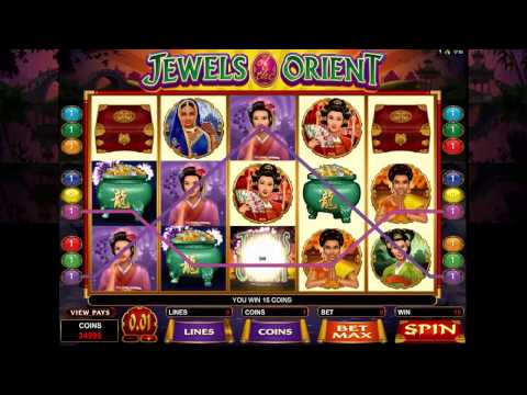 Jewels of the Orient slot game [GoWild Casino]