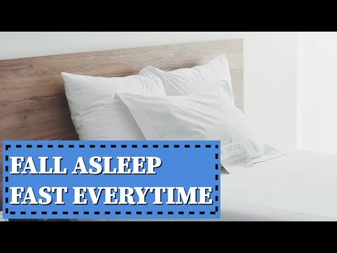 How to Fall Asleep Fast (3 Step Approval Works for Me Everytime) + Giveaway!