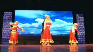 Neijiang China  city pictures gallery : Sichuan Folk Music & Dance 内江中国四川民族歌舞 - 2011 WMFF in Neijiang