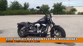 4. Used 2008 Harley Davidson Crossbones Motorcycle for sale  - Spring Hill, FL