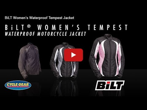 BiLT Women's Tempest Waterproof Jacket Official Product Overview at Cycle Gear