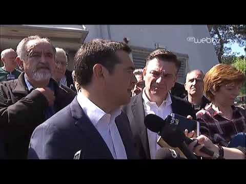 Δηλώσεις του Πρωθυπουργού στο Αεροδρόμιο Ιωαννίνων