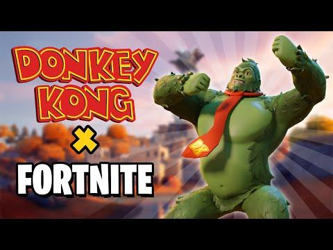DONKEY KONG X FORTNITE!