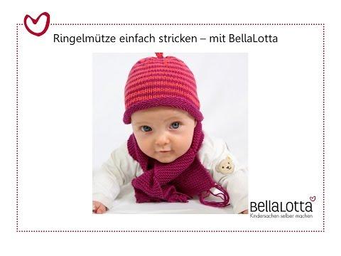 Babymütze einfach stricken – mit BellaLotta
