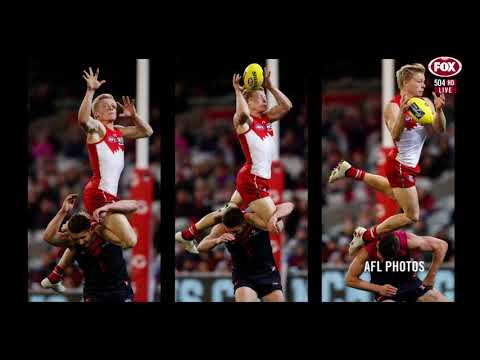 AFL 360 August 13th 2018 The Moment - Isaac Heeney Mark Of The Year Contender