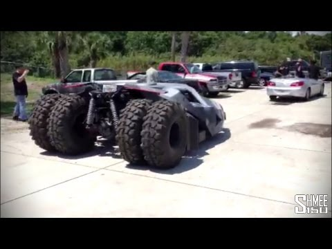 Team Galag   Replica Batman Tumbler for the Gumball 3000
