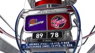 Mercury Spoil Fever, Catchings' Championship Hopes by WNBA