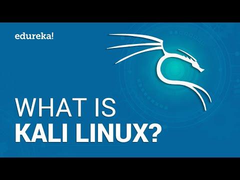 What is Kali Linux? | Kali Linux Tutorial | Cybersecurity Training | Edureka