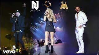 MTZ  Una Lady Como Tú, Perro Fiel Shakira,NickyJam,KarolG,Maluma,Jbalvin, CorinaSmith CONCIERTO