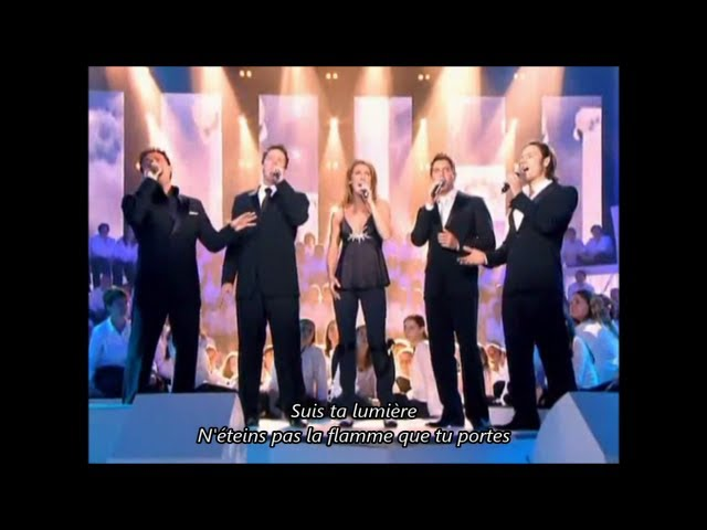 Il divo i believe in you duet with celine dion live at the - Il divo and celine dion ...